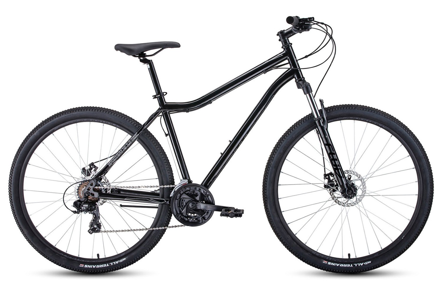 Горный велосипед Forward Sporting 29 2.0 Disc (2020)